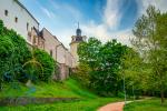 Olomouc castle wall