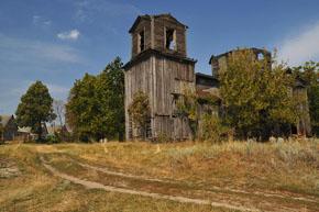 Тараща. Георгіївська церква