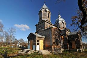 Мизинівка. церква св.Юра