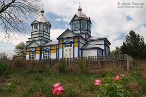 Іваньки-Тимошівка. Церква - дерев'яна та мурована