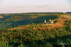 Замкова гора і Миколаївська церква