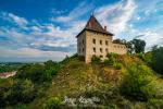 Stunning view of medieval Halych Castle, Halych, Ivano-Frankivsk region, Ukraine