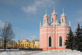 Пітер. Чесменська церква